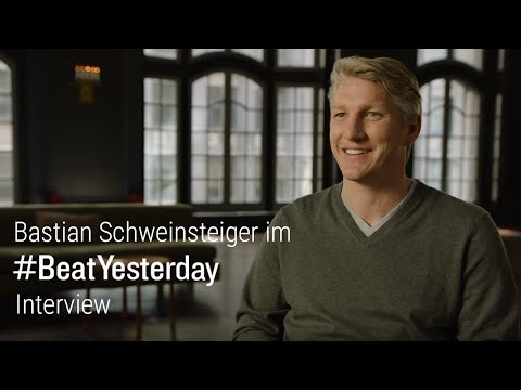 Bastian Schweinsteiger im #BeatYesterday-Interview