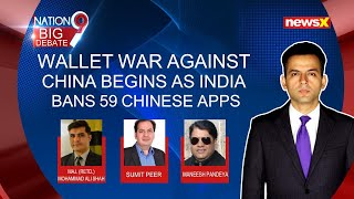 Wallet War against China begins as India bans 59 Chinese apps | NewsX - NEWSXLIVE