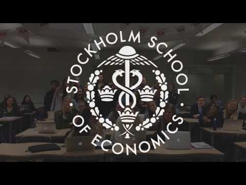 Happy Holidays from the Stockholm School of Economics