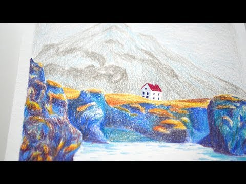 Drawing a House on a Cliff