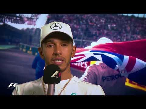 Lewis Hamilton Reveals All On Fourth World Title