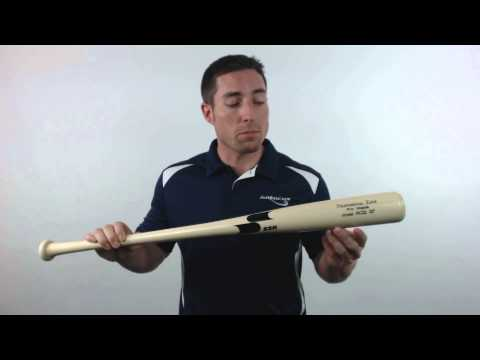 SSK Robinson Cano Pro Maple Wood Baseball Bat: RC22 Natural