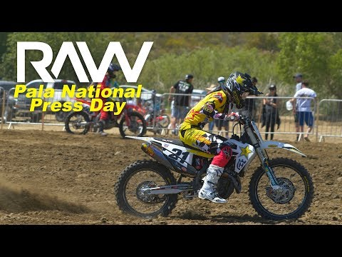 2019 Fox Raceway National Press Day RAW - Motocross Action Magazine