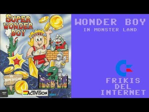Wonder Boy in Monster Land (c64) - Walkthrough comentado (RTA) #Frikis del Internet