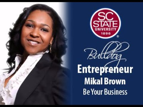 "SC State Celebrates ""Bulldog Entrepreneur�—Mikal Brown"