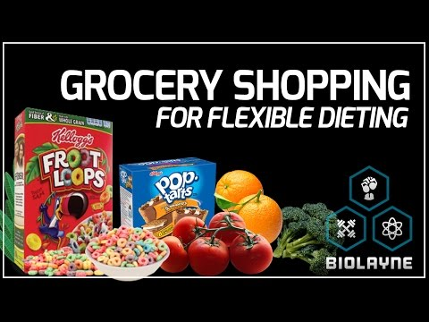 Grocery Shopping For Flexible Dieting
