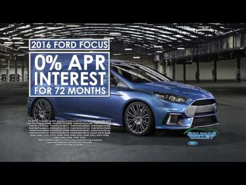 """Salinas Valley Ford - """"January Deals"""" (Jan. 4th - Jan. 31st)"""