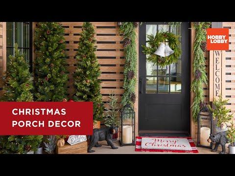 Christmas Porch Decor | Hobby Lobby®