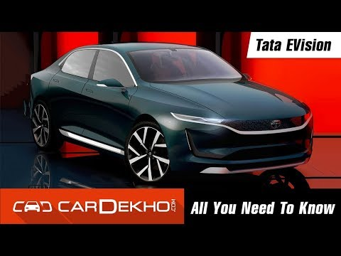 Tata EVision Electric Car Concept: All You Need To Know