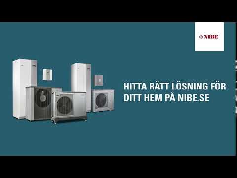 NIBE Luft/vattenvärmepump Bumper Ad 6 sek