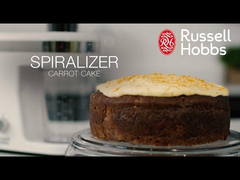 Hur man gör en morotskaka med Russell Hobbs Ultimate Spiralizer (lång)