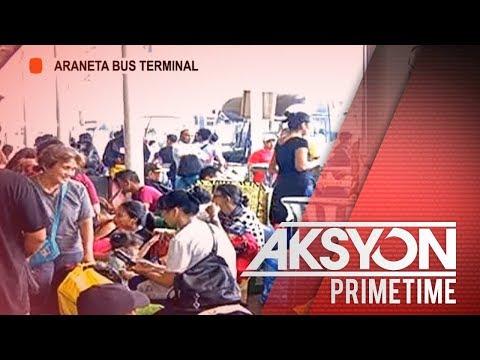 Ilang pasahero, umaasang makakasakay sa Araneta Bus Terminal.