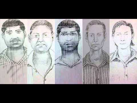 Sketches of Accused in Mumbai RAPE_CASE