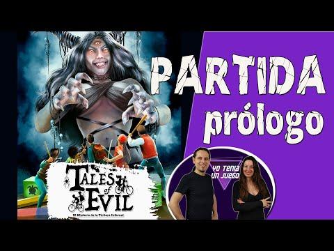 Tales of Evil | Partida 01 - Prólogo (escenario tutorial) | Español | Juego de mesa |