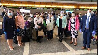 170 chapines regresan al país en vuelo humanitario
