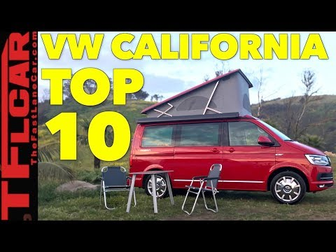 Top 10 Most Awesome Features of The VW Camper Van You Can't Have!