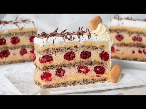 Plazmalina ® - Naš najtraženiji recept za plazma tortu sa malinama