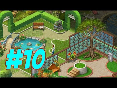 HOMESCAPES Gameplay Story Walkthrough Video | Garden Area Day 3