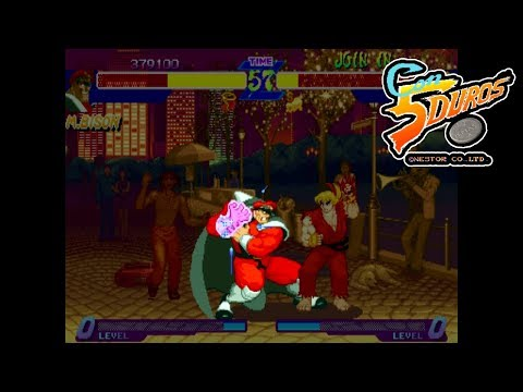 "[BIS] STREET FIGHTER ALPHA: WARRIORS' DREAMS (BISON) - ""CON 5 DUROS"" Episodio 85 (1cc) (CTR)"