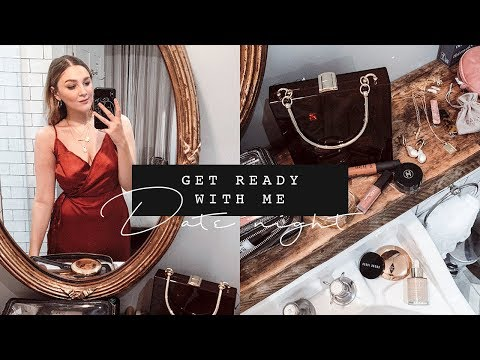 REAL-TIME GET READY WITH ME | QUICK DATE NIGHT MAKEUP + OUTFIT | I Covet Thee