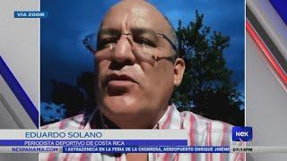 Entrevista a Eduardo Solano, periodista deportivo de Costa Rica