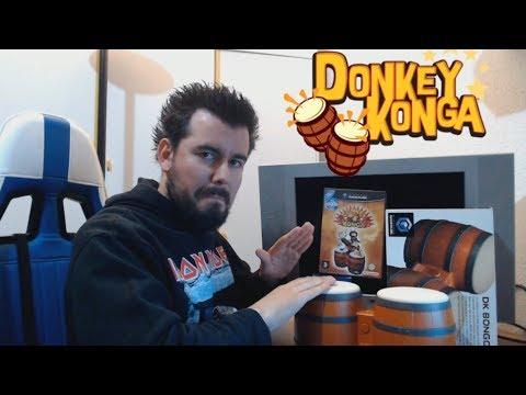 DONKEY KONGA (Gamecube) - Los bongos de Donkey Kong marcan el ritmo