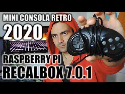 Crea Tu Mini Consola Retro En 2020 Con Raspberry Pi y Recalbox