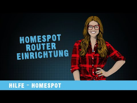Hilfe-Video: Homespot Router Einrichtung