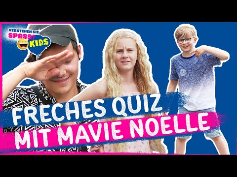 Mavie Noelle und das freche Quiz | Verstehen Sie Spaß? Kids