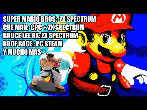 NOTICIAS VIDEOJUEGOS SUPER MARIO BROS ZX SPECTURM