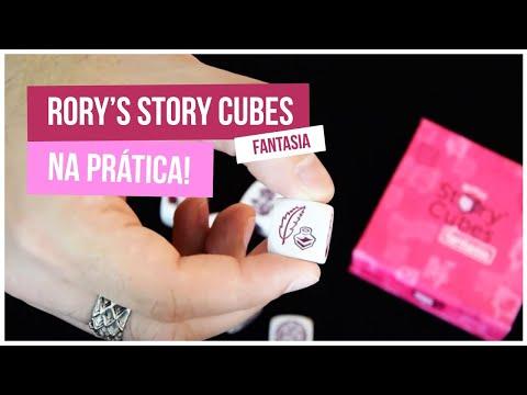 Rory's Story Cubes: Fantasia, na prática!