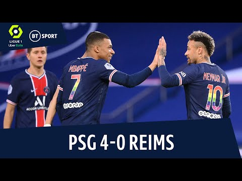 PSG vs Reims (4-0) | PSG keep title hopes alive! | Ligue 1 Highlights