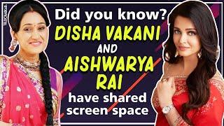 Can you guess? Disha Vakani and Aishwarya Rai have shared a screen space in the past I TellyChakkar - TELLYCHAKKAR