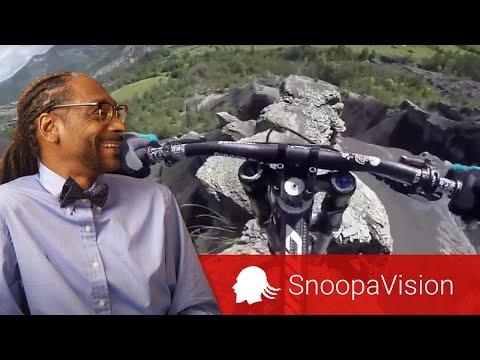 Crazy Mountain Biking POV in SnoopaVision