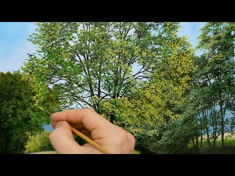 #120 Painting Tree Foliage Tips