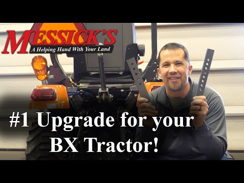 Most useful upgrade for your Kubota BX-Series tractor. 3pt hitch sway-bars \ stabilizer upgrade Picture