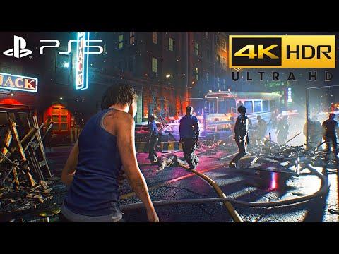 Resident Evil 3 Remake PS5 HDR Gameplay (4K 60FPS)