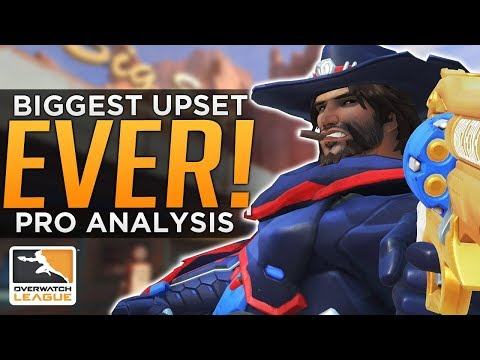 Overwatch: The Biggest Upset EVER! - Pro Analysis