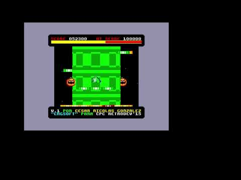 Frogalot (CNG Soft 2015) - Amstrad CPC