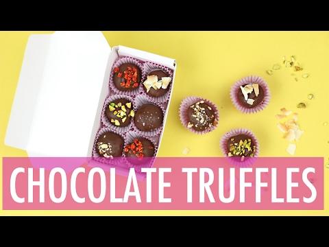 Nutella Chocolate Truffles Recipe | DIY Valentines Day Gift Ideas