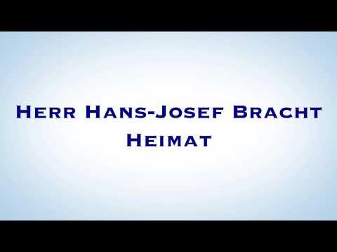 Herr Hans-Josef Bracht über die Heimat.
