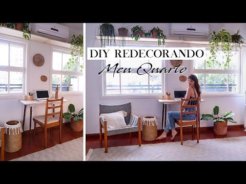 DIY Decorando o Quarto 01   Cantinho de estudo : Home Office