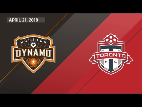 HIGHLIGHTS: Houston Dynamo vs. Toronto FC | April 21, 2018