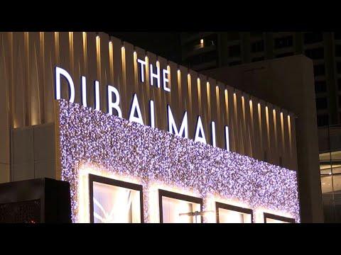With fever checks and masks, Dubai's mega-mall reopens   AFP photo
