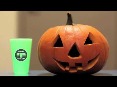 Silipint Happy Halloween Glow in Dark pumpkin sale