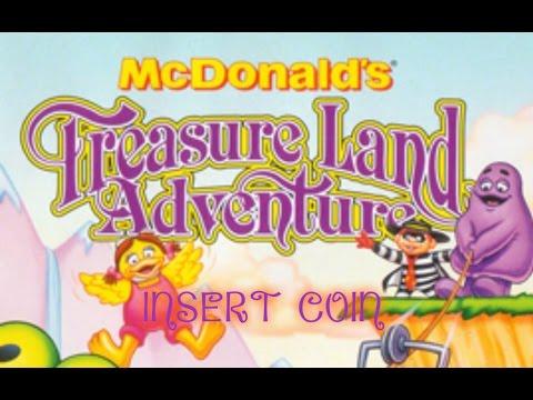 McDonald's Treasure Land Adventure (1993) - Mega Drive - En la piel de Ronald McDonald