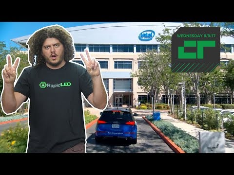 Intel Is Building Its Own Test Driving Fleet   Crunch Report