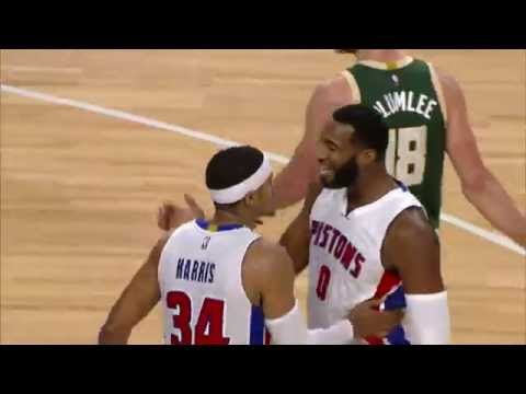 Tobias Harris Powers By and Slams It Home At The Palace