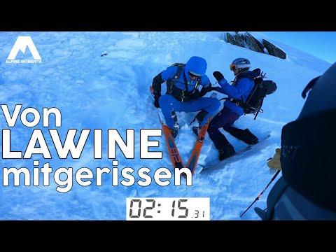 Lawine | Lawinenunfall Schneebrett im Lungau, Salzburg 26.12.2020