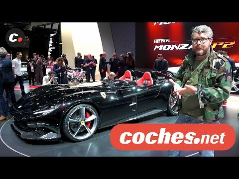 Ferrari Monza SP1 y SP2 | Salón de París 2018 | Mondial de l'Auto | coches.net